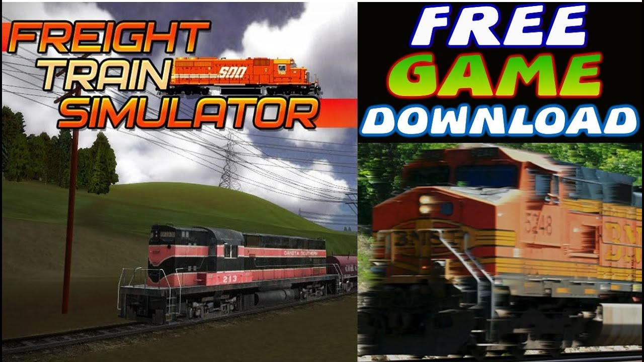 Freight Train Simulator Free Game Download Pc Hd Youtube