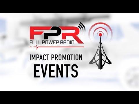 Full Power Radio Impact Promotions