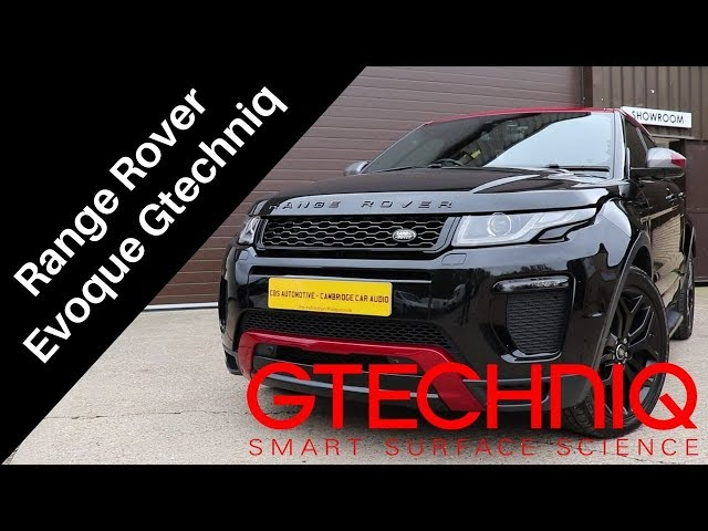 Range Rover Evoque | Gtechniq Protection | CBS Automotive