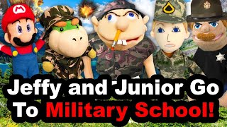 SML YTP: Jeffy and Junior Go To Military School!