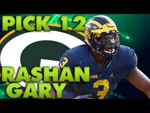 Green Bay Packers Draft Rashan Gary! Packers Fan Reaction!