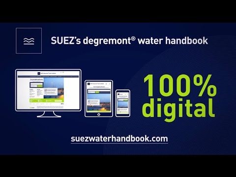 Preview: degremont® water handbook - SUEZ