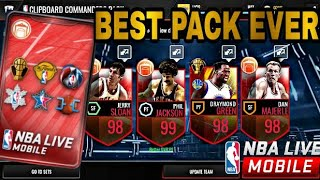 Top 10 CORNUCOPIA PACKS IN NBA LIVE MOBILE!