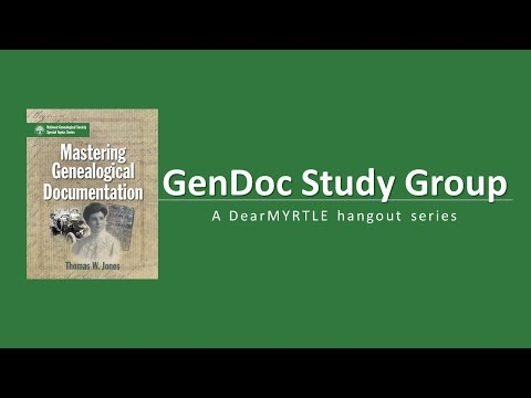 GenDoc Study Group 3