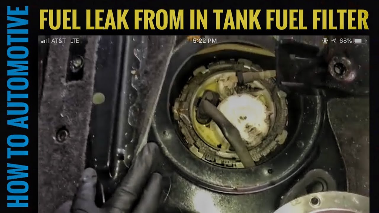 how to replace the in tank fuel filter on a 2010 2017 volkswagen X5 Fuel Filter how to replace the in tank fuel filter