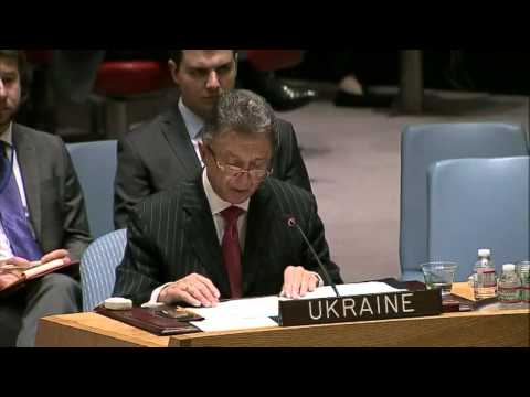 Ukraine checkmates Russia at the U.N. Security Council meeting on May 28. (English)