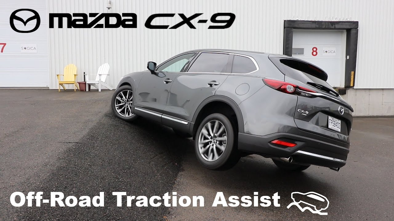 Mazda CX-9 | New Diagonal AWD test with Off-Road Traction Assist!