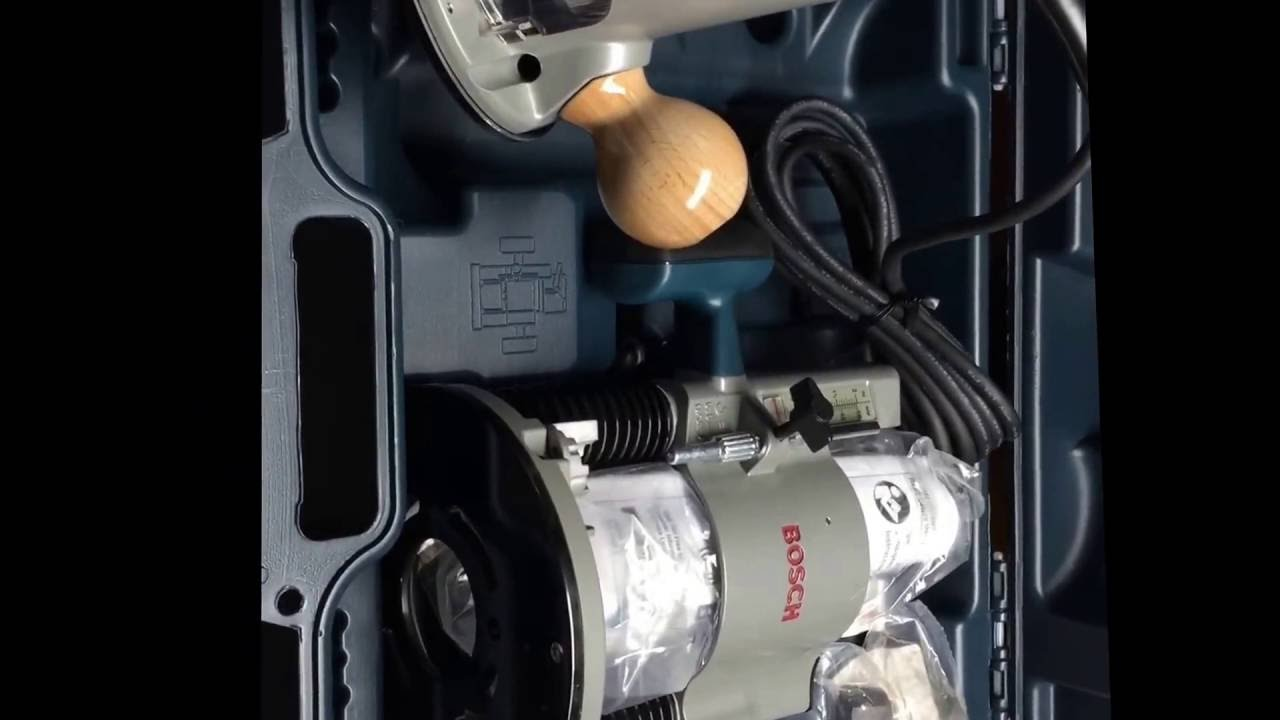 Bosch router 1617evspk and router table ra1181open box youtube bosch router 1617evspk and router table ra1181open box greentooth Choice Image