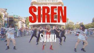 [KPOP IN PUBLIC CHALLENGE] SUNMI (선미) - #Siren (사이렌) Dance Cover By C.A.C from Vietnam