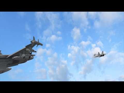 Russian jet nearly collides With Norwegian F-16