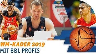 Wer soll mit zur WM? | BBL Profis nominieren Basketball WM-Kader