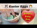 Simple Easy Fun 🐰 Easter Eggs 🐣