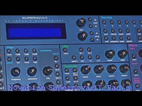 Novation Supernova II Pad Sound's