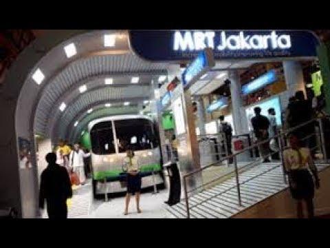 Repeat Menjajal Kereta Mrt Jakarta Pada Masa Uji Coba ジャカルタ