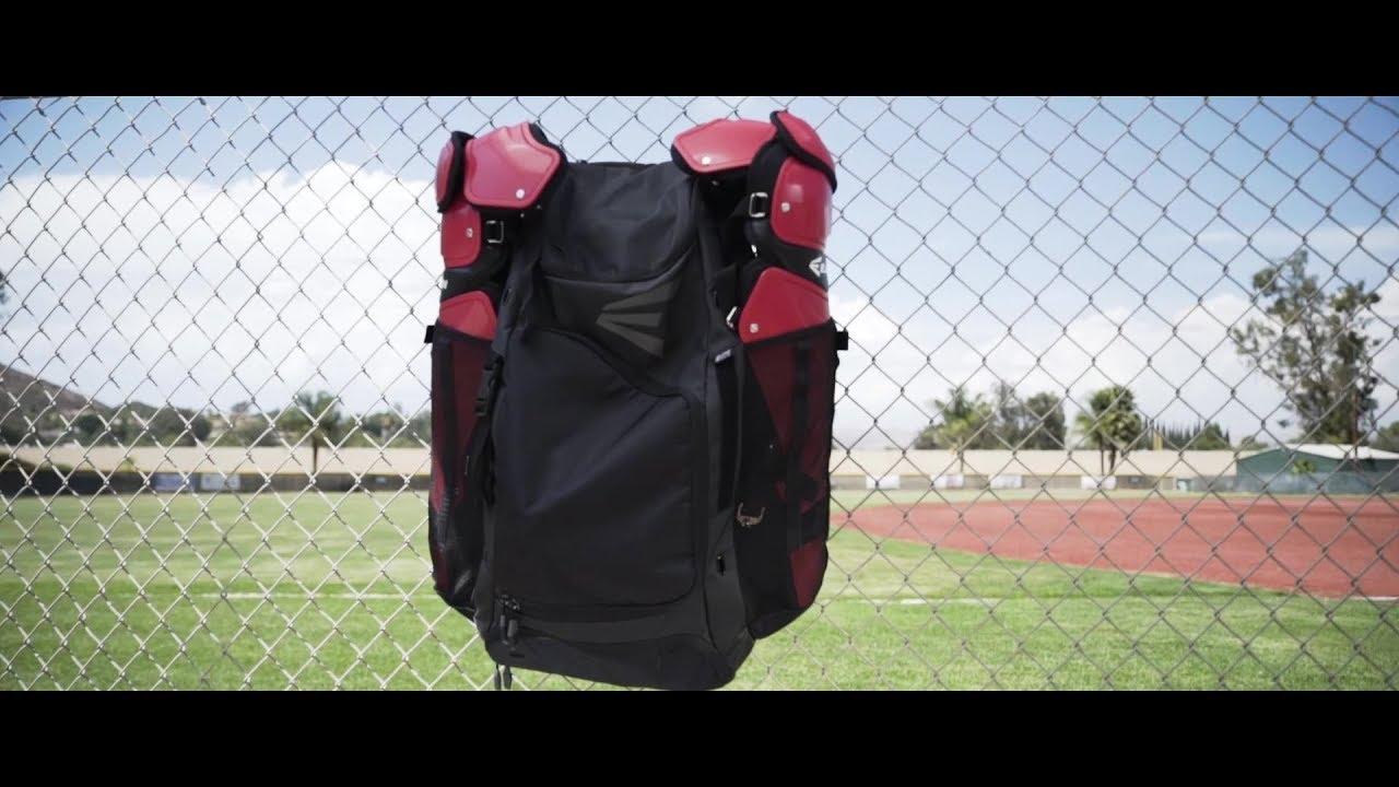 EASTON - E610CBP CATCHER S BACKPACK TECH VIDEO (2018) - YouTube 432e692683e7