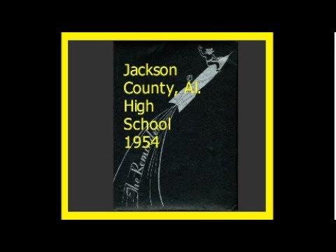 1954 JACKSON COUNTY  AL  HIGH SCHOOL YEARBOOK~Mr Sandman~Sh Boom Sh Boom~Moon River