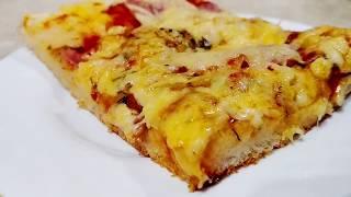 Ідеальне ТІСТО на ПІЦУ Рецепт Піци по-домашньому Очень ВКУСНОЕ Тесто на Пиццу
