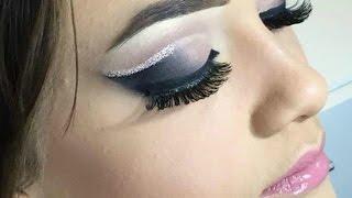 Maquiando Cliente #1- Double Cut Crease com Glitter inspirado na maquiadora Michelly Palma