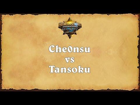 Che0nsu vs Tansoku - Asia-Pacific Last Call - Finals