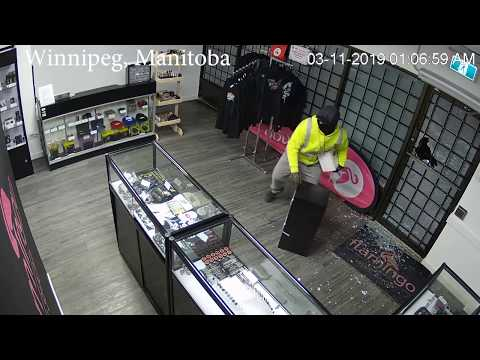 None - Criminals break into vape shop and really don't know what to do next.