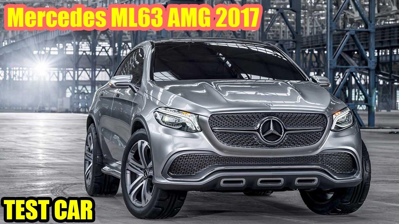 Mercedes Ml63 Amg 2017 Test Car Youtube