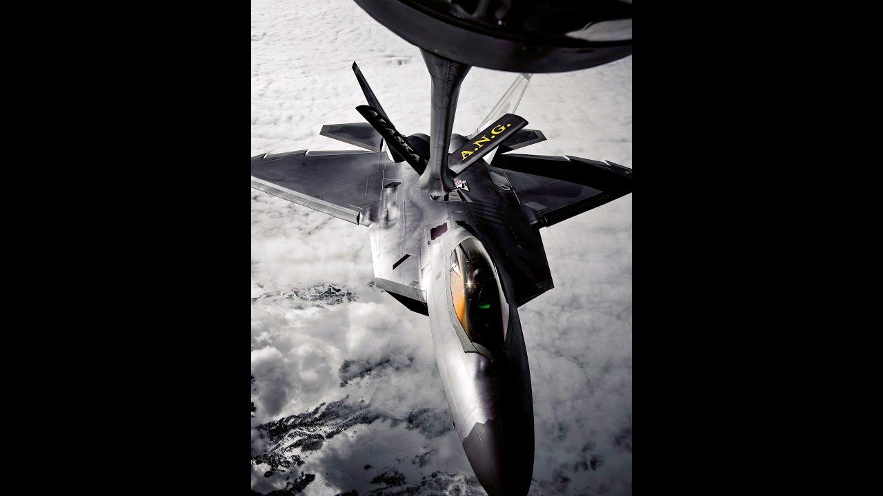 Download F-22 Raptor Заправка в воздухе