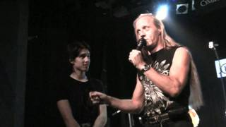 Klaudius Kryšpín, Martin Vajgl a Dalibor Mráz na Bubenickém festivalu