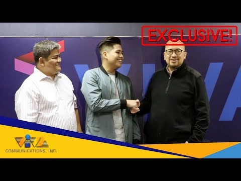 JUST IN: Joshua Feliciano signs contract with VIVA Records!
