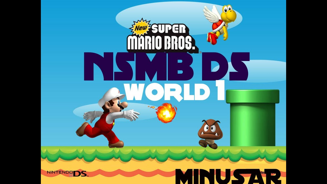 New super mario bros world 7-3 star coins ds / Indian coin