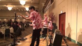 """鳥取ベンチャーズのステージです!! 2017.4.23 ニューオータニ鳥取""""鶴..."""