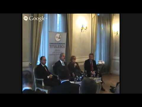 Lansare FET - Romania and the International Court of Justice, 26 noiembrie 2014