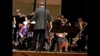 The UNK Jazz Rock Band performing Smack Dab in the Middle! By Sammy Nestico