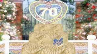 видео 70-летний юбилей для мужчин