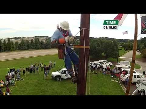 2014 Pole Top Rescue Competition — Brad Payne, French Broad EMC