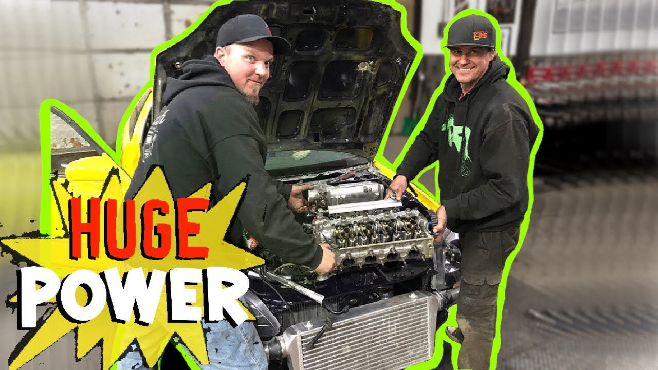 Turbo D16 Makes CRAZY power at Pfi Speed!