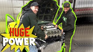 Turbo D16 Makes CRAZY power at Pfi Speed!