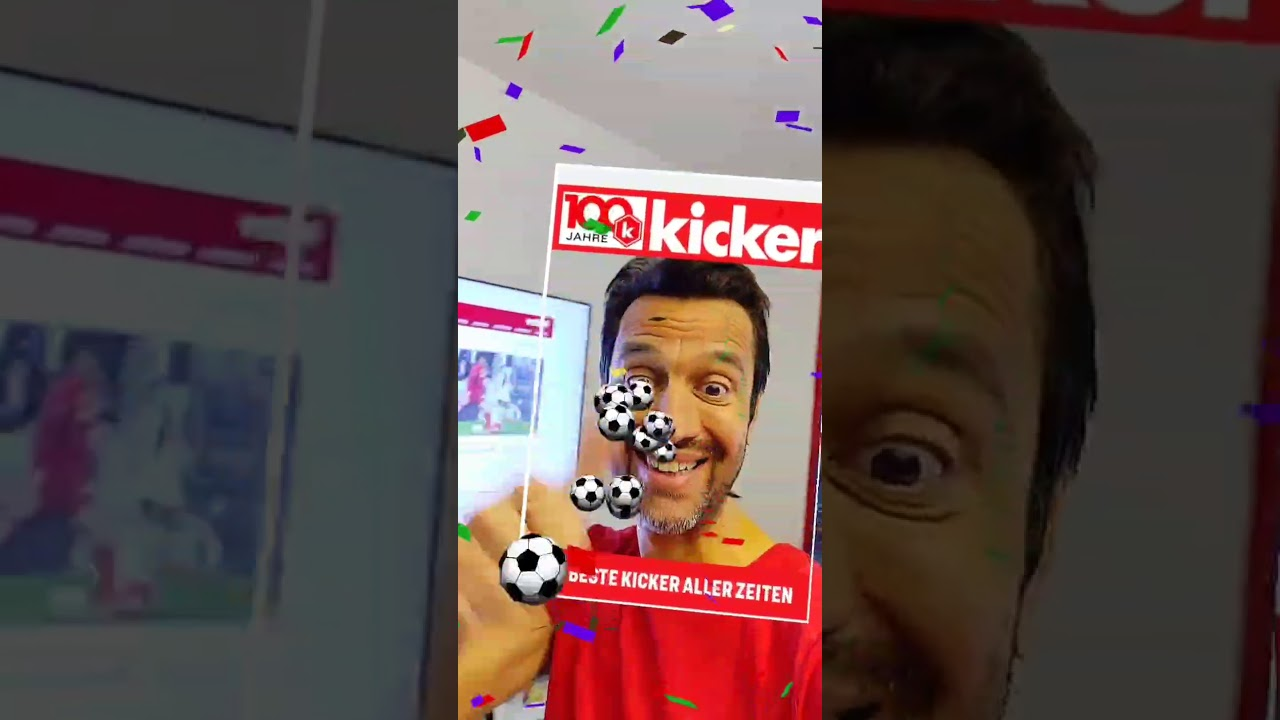 AR effect for 100 years of kicker
