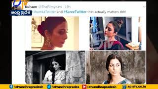 #SareeTwitter | Celebs, Politicians and Others are Sharing Their Favorite Saree Pics on Twitter
