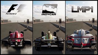 The Ultimate Battle! | Forza Motorsport 7 | F1 vs IndyCar vs LMP1