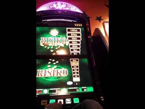 Einmalig Casino Hauptgewinn Merkur Magie Risiko von 0 auf 140 Euro Jackpot Freispiele Gewinn Trick