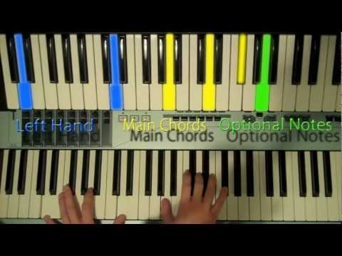How To Play : Nothing by The Script on Piano - PTM