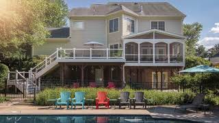 Custom Decks, Patios, Porches & Sunrooms | Steadfast Construction