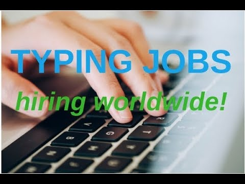 Home based Job: Typing jobs part-time & full-time (hiring worldwide)  | Vlog 10