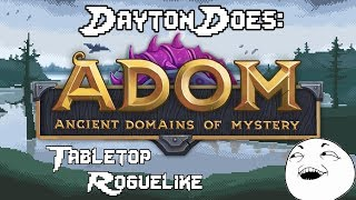 Ultimate ADOM : Hardcore Tabletop Style Roguelike. Difficult But Tasty! (Steam PC Gameplay Review)