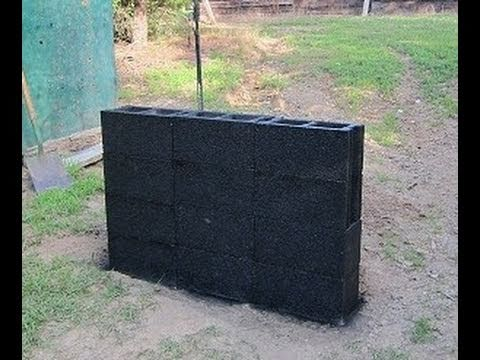 AR 15 Tracers VS Block Wall