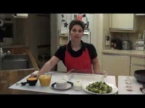 Diabetic Vegetarian Dinner Recipe: Broccoli Cheddar Casserole
