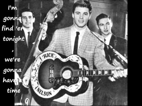 Ricky Nelson Garden Party Lyrics Music Search Engine