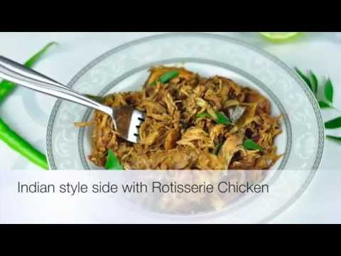 Indian Style Spicy Side Dish Using Rotisserie Chicken