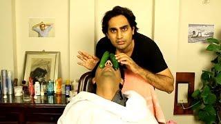 When You Visit Desi Barber   Danish Ali Funny video   danishalishow