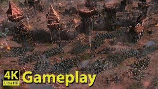 Medieval Kingdom Wars - 4K GAMEPLAY [New Medieval Real Time Strategy Game]